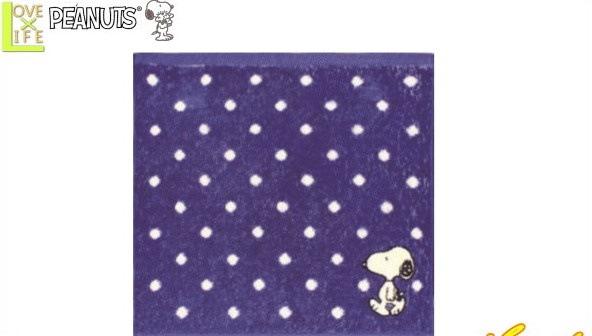 【SNOOPY】【スヌーピー】ミニタオル【ドット】【ピーナッツ】【グッズ】【ハンカチ】【タオル】【たおる】【入園】【入学】【グッズ】【ピクニック】【かわいい】
