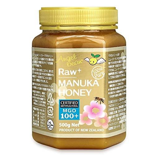 マヌカハニー MGO100+【500g】ニュージーランド産 生タイプ 天然・非加熱 生はちみつ