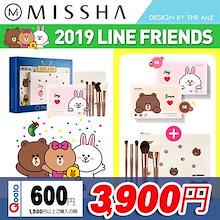 [MISSHA/ミシャ] ★2019 LINE FRIENDS EDITON★ COLOR FILTER SHADOW + POUCH + BRUSH SET