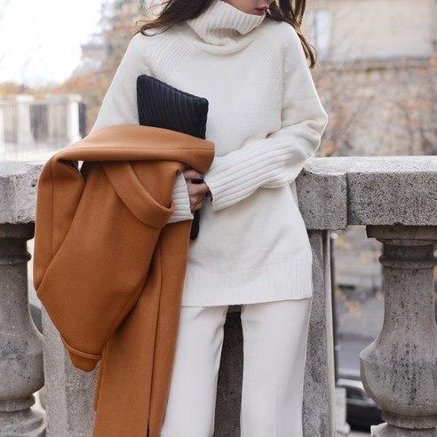 さらにムードH506エランニットkorean fashion style