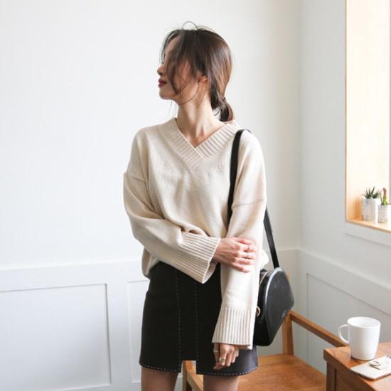 チョアジたらココブイネクニート7color ニット/セーター/ニット/韓国ファッション