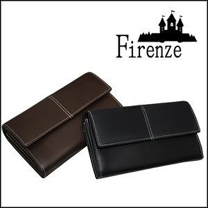 【アウトレット】本牛革 アコーディオン式 長財布 全2色 カード24枚収納可能 MEN S さいふ サイフ ウォレット ブランドFirenze