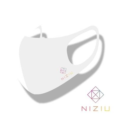 NIZIU LOGO MASK マスク[ STRETCH ANTIBACTERIAL 3D MASK ] 洗濯可能 HYOSUNG [カラーマスク]