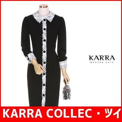 KARRA COLLEC・ツイードカラモダンワンピースKBIWOP025A /ワンピース/ Tシャツワンピース/韓国ファッション