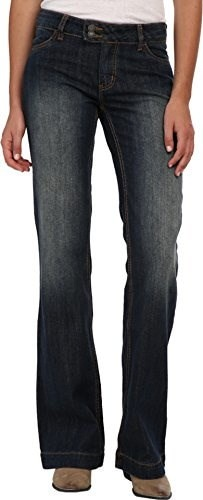Stetson Womens 214 Fit City Trouser Jeans Denim 12 L
