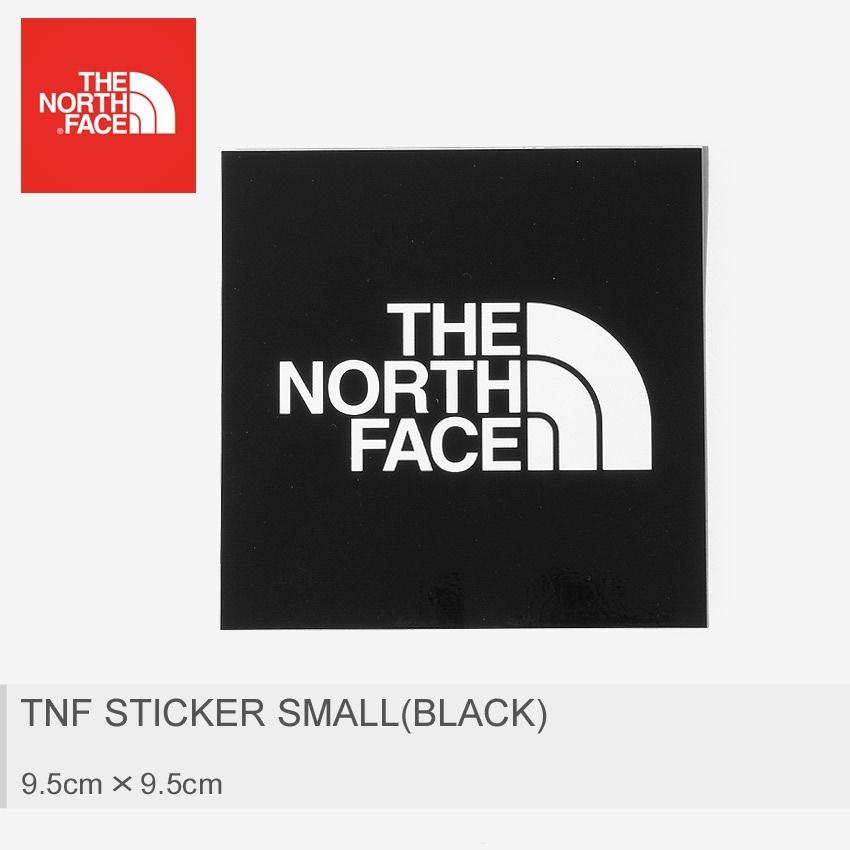 THE NORTH FACE ザ ノースフェイス ステッカー TNF ステッカー 小 ブラック NN9719