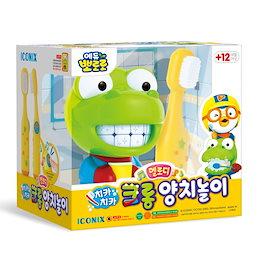 (ポロロ商品)ポロロチカチカクロンシダ遊びメロディ玩具セット/韓国発送、キッズおもちゃ、ギョボジェ、グラス、お弁当