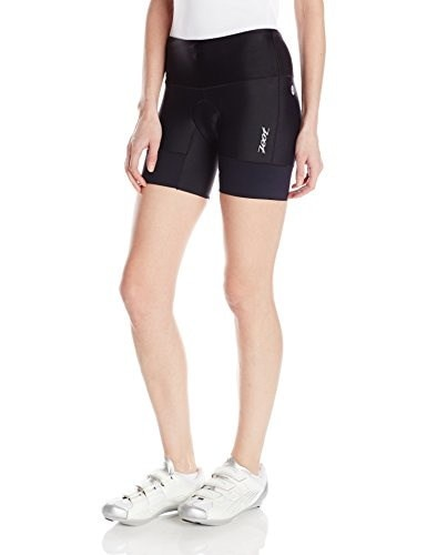 ZOOT SPORTS Womens Performance Tri 6-Inch Short, Small, Black
