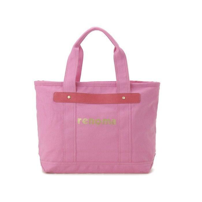 renoma レノマ トートバッグ 1505006-14511 キャンバス 1WAYバッグ ピンク【送料無料】