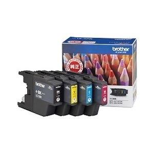 ブラザー工業 インクカートリッジ お徳用4色パック LC12-4PK