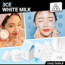 [3CE/3CONCEPT EYES] ★4pcs SET SALE ★WHITE MILK CREAM 50ml * 4 / KOREA BEAUTY