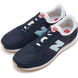 16e8ea4324ffc 【日本正規品】ニューバランス newbalance WL220 CRC レディース スニーカー 靴 NAVY ネイビー系 [