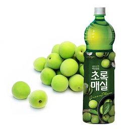 『ウンジン』 チョロックメシル|梅ジュース(1.5L×1本・PET) 青梅 健康飲料 食後飲料 韓国ドリンク 韓国飲み物 韓国食品