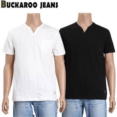 [AK公式ストア]【buckaroo jean]ユニスルロプスリットヘンリーネックTシャツ(B192Z4035P)