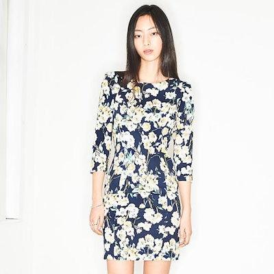 ナインNAINステラフラワーワンピースOP2599 面ワンピース/ 韓国ファッション