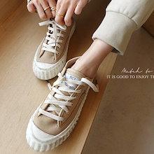 ★『Naning9』★ナチュラルカラーが素敵💗プリオン スニーカー/ おしゃれなシルエットのファッションコーデー提案!ハイクォリティー/韓国ファッション