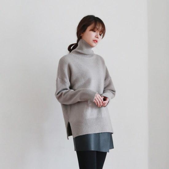 デイリー・マンデーTurtle neck soft knitタートルネックソフト・ニット ニット/セーター/ニット/韓国ファッション