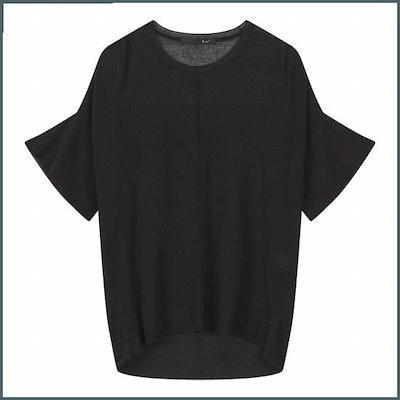 [ジコッ]センターピン・タックプルオーバー・ニット7228250205199 /ニット/セーター/ニット/韓国ファッション