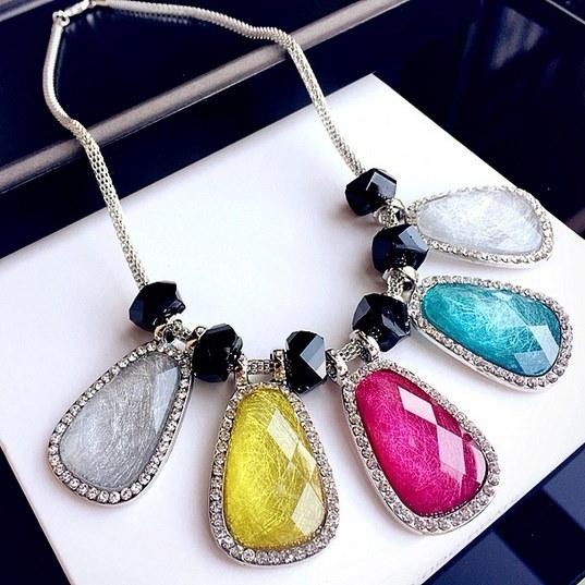 エキゾチックなストリーミングジュエリーショート鎖骨チェーン誇張韓国アクセサリー装飾的なネックレス