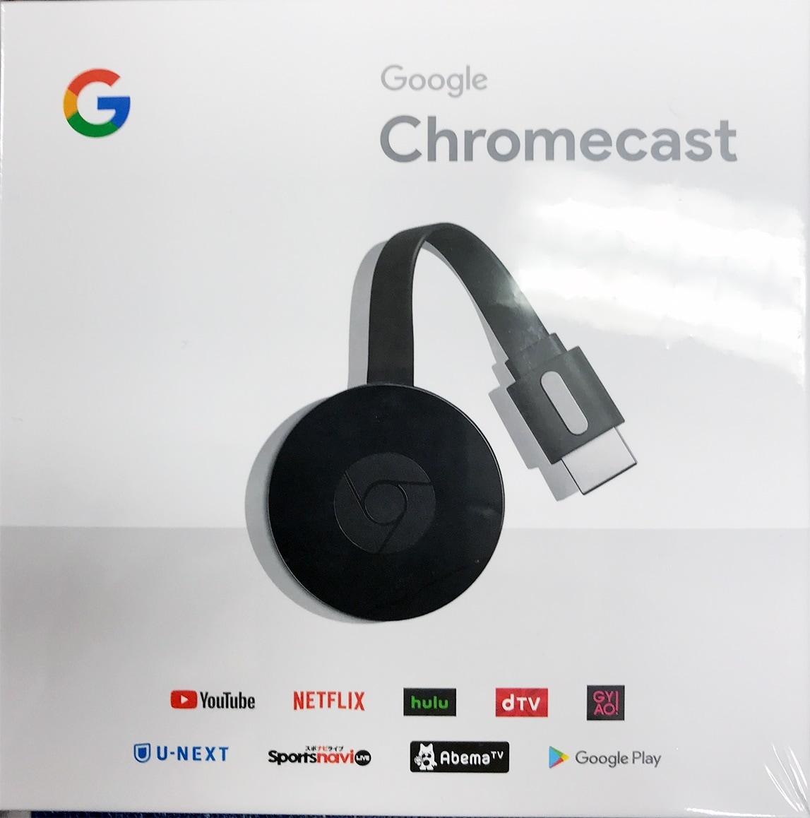 Qoo10のGoogle Chromecast