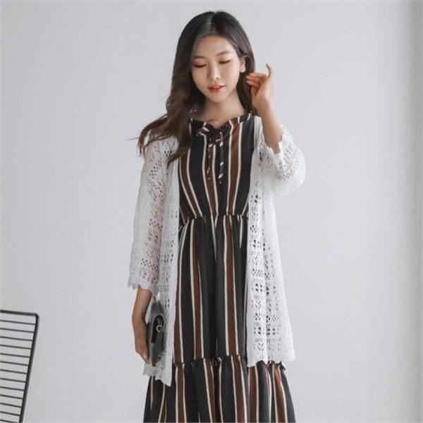 ジャストウォン波スカジーサマーカディゴンnewsrcLangTypeko 女性ニット/カーディガン/韓国ファッション