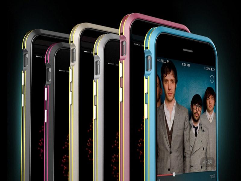 6plus GINMIC iphone6S バンバー アイフォン6 アルマイト Plus 高級 05P03Dec16 6 薄い 着色 6/6S/6 カバー アルミ 2色 iphone6plus アイフ