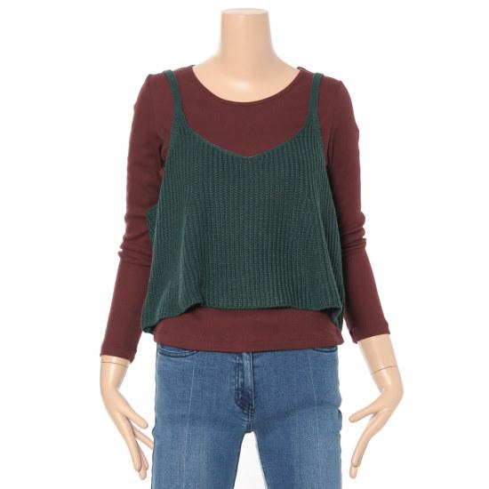 ルシャプLeShopニットビュスチェLG9KP624 ニット/セーター/韓国ファッション