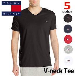 トミー  Tシャツ  TOMMY HILFIGER メンズ  トミーヒルフィガー Tシャツ t397 白 紺 黒