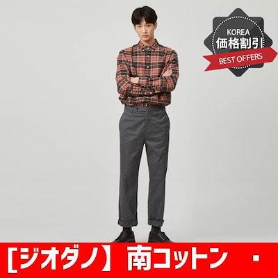 [ジオダノ】南コットンスパンワイドゥピッノ118924 /パンツ/面パンツ/韓国ファッション