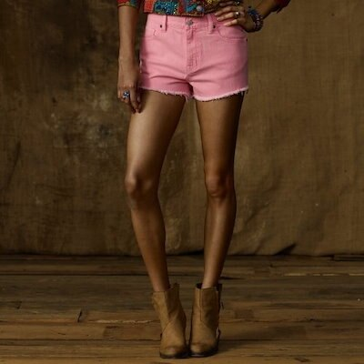 Ralph Lauren Denim & Supply Womens Vintage Style Denim Mini Shorts (28 W)