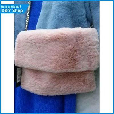 [エイビープラス]abplus・ファーミニチェーンクラッチバック /トートバッグ / 韓国ファッション