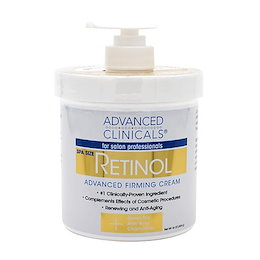 [Advanced Clinicals] レチノールアドバンスドファーミングクリーム 454g