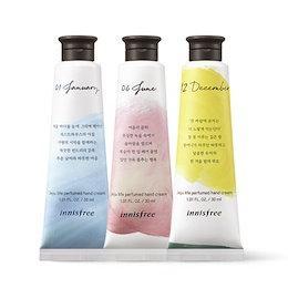 [1+1+1] Innisfree Jeju life Perfumed Hand Cream イニスフリーチェジュライフパフュームドハンドクリーム 3個