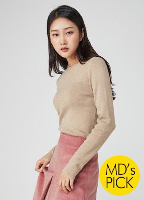 ナインNAINスリムフィットニートT3813 ニット/セーター/ニット/韓国ファッション