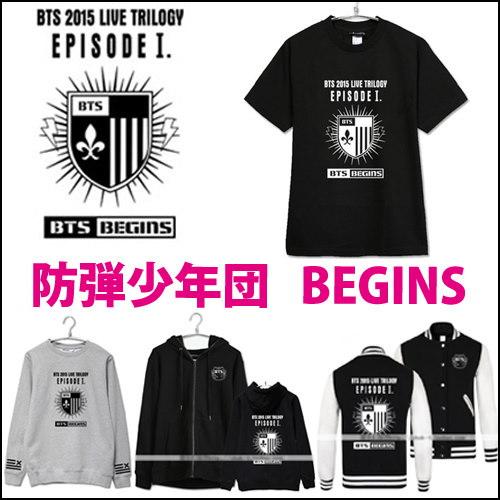 防弾少年団 begins 半袖Tシャツ/パーカー/ トレーナー / BTS / JUNG KOOK /SUGA /J-HOPE /V /JIMIN