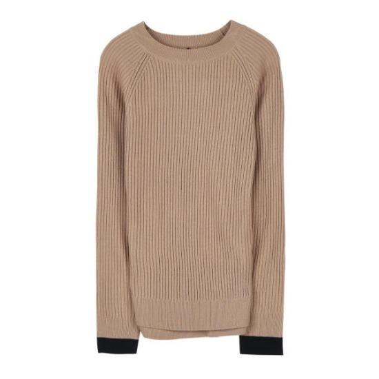 ミソポイントゴルジニートMIWKA7941T ニット/セーター/韓国ファッション