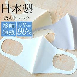 マスク 日本製 新色追加 秋 冬 春用マスク 洗える 2枚セット 3D 立体マスク UVカット メンズ レディース 花粉対策 (cn-maskm)【メール便送料無料】