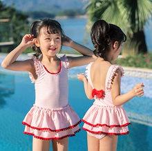 18152190913 こども 水着 女の子 ワンピース キッズ 水着 子供 水着 女の子水着 ワンピース水着 花柄 チュチュスカート