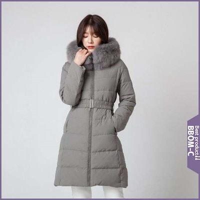 [ルシャプ]フォックストリミングパディング(LIBPD555) / パディング/ダウンジャンパー/ 韓国ファッション