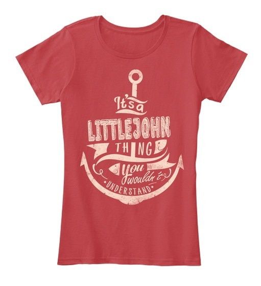 そのLittlejohn Thing Xmas  - あなたはレディスのプレミアムティーTシャツを理解できません