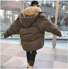 INS    メンズファッション     新しい綿服      男女兼用   長い金    羽毛ジャケット    綿入れの服     韓国ファッション パン服 コート 上着 冬 厚いパン服
