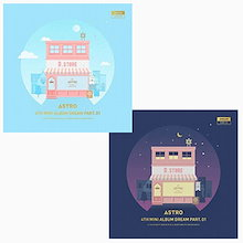 バージョン選択(韓国盤)ASTRO 4thミニアルバム - Dream Part.01 CD