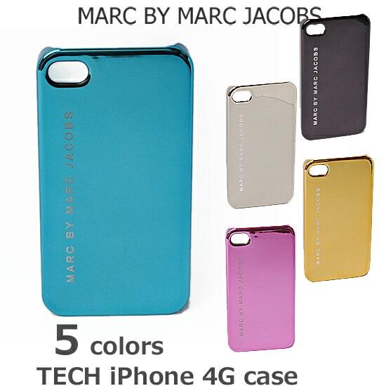 【クーポンGETで最大2千円オフ!楽天スーパーSALE】iPhoneケース/アイフォンケース 4 対応 MARC BY MARC JACOBS マークバイマークジェイコブス メタリック M31116