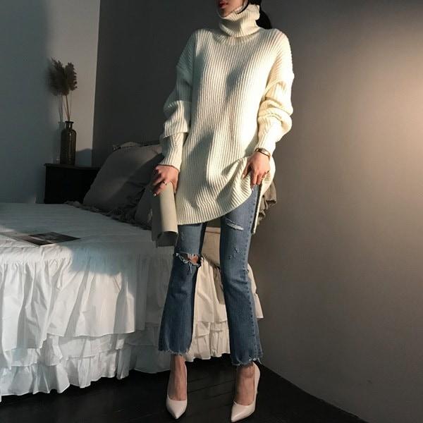[送料無料]★韓国ファッション通販業界1位 『Naning9』★リカベル・ニット/ おしゃれなシルエットのファッションコーデー提案!ハイクォリティー/韓国ファッション/オフィスルック/ レディース