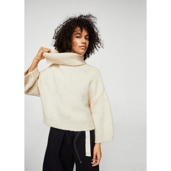 マンゴーMANGOタートルネックのセーター ニット/セーター/ニット/韓国ファッション