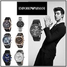 [エンポリオ アルマーニ] EMPORIO ARMANI 腕時計 クオーツ アルマーニ 時計 メンズ  プレゼント  誕生日 クリスマス お祝い