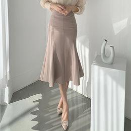 ✨DRESSCAFE✨[韓国ファッション] ♥ Limited item!♥ (8color) パーフェクトフィットマーメイドスカート