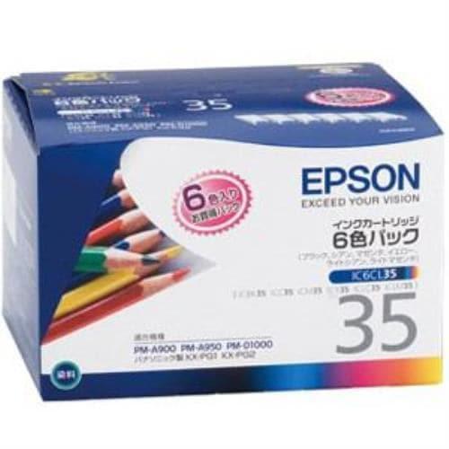 エプソン IC6CL35 純正インク インクカートリッジ 6色パック