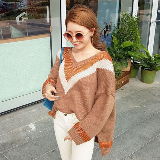 素であるマカダミアナッツknit ニット/セーター/ニット/韓国ファッション