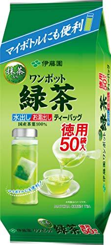 伊藤園 ワンポット抹茶入り緑茶ティーバッグ 3.0g×50袋